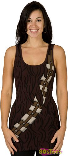 Ladies Chewbacca Tank Dress