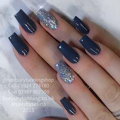 5/1/18  ANNA   @annawomersleyx  #acrylicnails #gelnails  #nailsbyselina  #horbury #wakefield  #nail #nailporn #nailsalon  #nailstuff #naildesign #nailaddicts  #uknails #nailstagram #uñas #naglar #ongles #yorkshire #wakefieldnails #instanail #nailsdid #nails #ネイルアート #ネイル #nailshop #nailsofinstagram  #WinterNails #GreyNails  Glitter supplied by and with thanks to @theunicornsden x