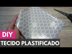 Como plastificar/impermeabilizar tecidos  DIY - Faça você mesmo - YouTube