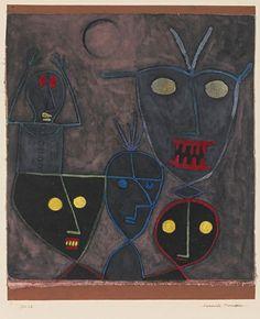 Paul Klee, Demonic puppets