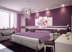 80 belles images de Chambre mauve | Mauve bedroom, Paint colors et ...