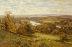 Landscape by Alfred Augustus Glendening