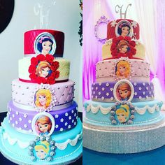 Princess Cakes, Disney Cakes, Party, Recipes, Food, Meal, Eten, Fiesta Party, Recipies