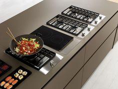 Spruce kitchen with island AXIS 012 AXIS 012 Collection by Zampieri Cucine | design Stefano Cavazzana