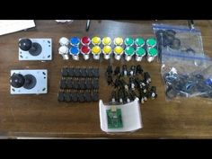 Building A MAME Cabinet Ep1: Ordering And Recieving Buttons and Joysticks
