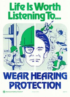 Vintage safety posters