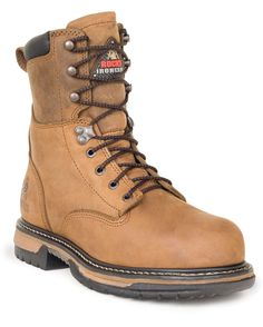 Sales Rocky 8 inch IronClad Waterproof Steel Toe Work Boots new - Slip and Oil Resistant EH- Electrical Hazard EVA midsole Extra durable-ribbed tempered Steel Shank Guaranteed Rocky Waterproof Construction Polyurethane Footbed PT- Protective. Safety Shoes For Men, Safety Footwear, Best Work Shoes, Ugg Boots, Combat Boots, Rocky Boots, Slip Resistant Shoes, Steel Toe Work Boots, Cheap Boots