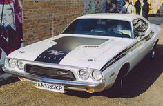 """Dodge Challenger '1970 on """"Kiev Kustom Kulture Fest (2015)"""""""