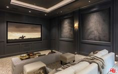Home Theater Furniture, Home Theater Decor, Best Home Theater, At Home Movie Theater, Home Theater Rooms, Home Theater Design, Home Theater Seating, Home Theatre, Theater Seats