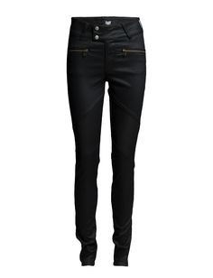 DAY - Day New York Glam Get noticed in these essential and versatile slim jeans from Day Birger et Mikkelsen for an edgy look. Regular rise, slim leg Belt loops Double button and zip-fly closure Zip front pockets Stretch fit Back welt pockets Fit Back, Edgy Look, Slim Jeans, Welt Pocket, New Day, Black Jeans, New York, Closure, Pockets