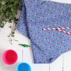 """Tissu """"Ne Marchez pas sur les fleurs"""" ATELIER BRUNETTE - 1,80 € x 10cm - Anna Ka Bazaar • 100% popeline de coton • Laize 140cm • Densité 110g/m2 • Lavage à 30 - 40°"""