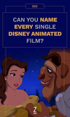 This quiz is only for the ultimate Disney fans.