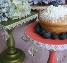 Jeweled Cake Stand