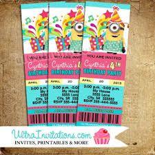 Resultado de imagen para free printable invitation ticket