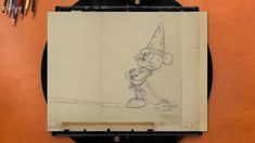 Watch Mickey Mouse in his starring Fantasia role in this pencil test footage of original animation drawings from the Walt Disney Animation Research Library. Artist palette: Les Clark, Animator l Dan MacManus, Effects Animator Animation Storyboard, Animation Sketches, Learn Animation, Animation Reference, Mickey Mouse Drawings, Disney Drawings, Disney Concept Art, Disney Art, Disney Animators