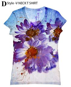 Hey, I found this really awesome Etsy listing at https://www.etsy.com/listing/152225056/woman-flower-all-over-print-top-t-shirt