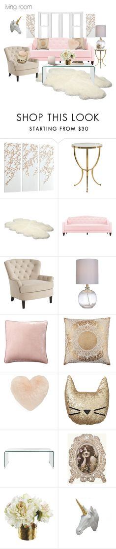 """""""living room"""" by amber-rochelle ❤ liked on Polyvore featuring interior, interiors, interior design, home, home decor, interior decorating, Cyan Design, UGG Australia, Pier 1 Imports and Pottery Barn"""