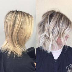 How-To: yellow blonde to lived-in sombre hair sarışın saç mo Yellow Blonde Hair, Hair Blond, Ombré Hair, Hair Dos, Light Blonde, Brunette Hair, Diy Hair, Toning Blonde Hair, Toner For Blonde Hair