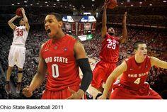 0e26e6e2471 OHIO STATE BASKETBALL 2010-2011 Buckeye Basketball, Basketball Shoes For  Men, Ohio State