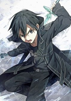 Sword Art Online Kirito by Opussp