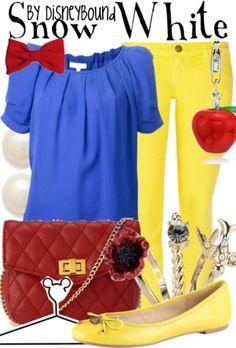 Fictional Fashion: Snow White