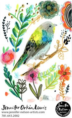 Chickadee chirps. August Wren