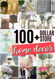 DIY home decor stuff - Easy peasy examples to style a stunning decor. easy home decor diy dollar stores post status posted on 20190312 Dollar Store Hacks, Dollar Store Crafts, Dollar Stores, Home Decor Hacks, Easy Home Decor, Handmade Home Decor, Cheap Home Decor, Decor Ideas, Gift Ideas