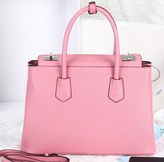 6b31a3421188f0 -2014 Cheap Prada Twin Saffiano Cuir tote Pink,Prada bags 2014 on sale Prada