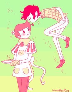 AT: You're sweeter then your sweets by ~WinterBloodDrop on deviantART
