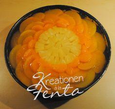 Kreationen à la fenta: ein leckerer Boden zum Obstkuchen