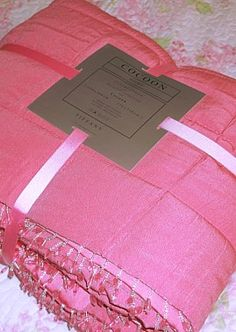 New for Spring Pretty Pink Tiffany Bed Throw | Coast & Country Interiors
