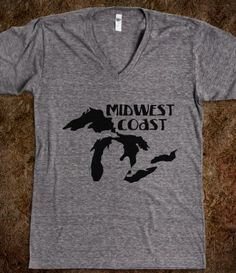 My collection of Midwest / Ohio shirts will grow