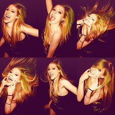 Avril let's smile with her all LBS