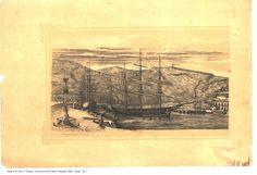 Vista parcial del Puerto de Almería, 1899. Autor: Antonio Navarro de Vera.