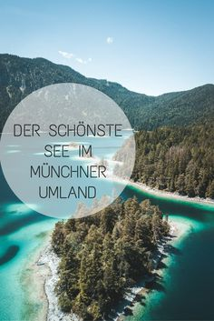 The most beautiful lake in the Munich area: the Eibsee is always worth a trip. Located directly at the Zugspitze, the Eibsee is about an hour and a half away from Munich. Backpacking Europe, Europe Travel Tips, Travel Usa, Travel Destinations, Travel Hacks, Best Places In Europe, Places To See, Munich, Hiking Photography