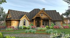 The exquisite craftsman details makes this #Home one of our most popular #houseplans.  - See more at: http://www.thehousedesigners.com/plan/lattesa-di-vita-1895/#sthash.rvBhIcNl.dpuf