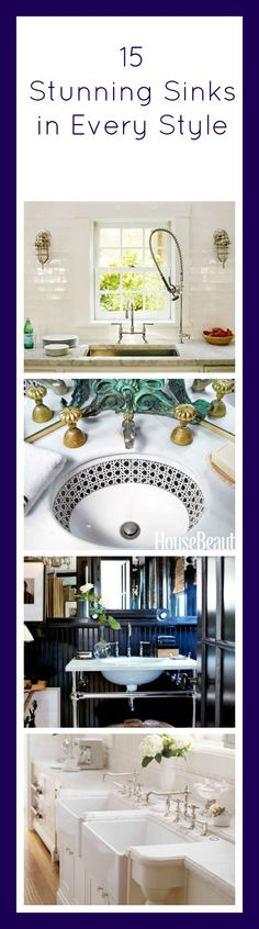In both the kitchen and the bathroom, this underrated feature can make a big splash.