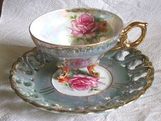 Teacup and Saucer My grandmother had several of these