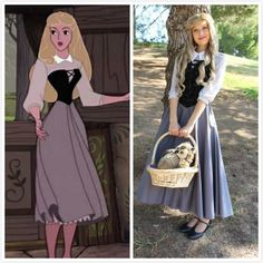 Briar Rose Dress Costume from Sleeping Beauty – CosplayrrYou can find Princess costumes and more on our website.Briar Rose Dress Costume from Sleeping Beauty – Cosplayrr Aurora Costume, Rose Costume, Cinderella Costume, Costume Dress, Belle Costume, Aurora Dress, Disney Princess Cosplay, Disney Princess Dresses, Disney Cosplay