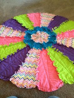 100% cotton rag quilt.  I want to learn how to make this