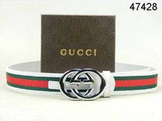 Gucci Belt White