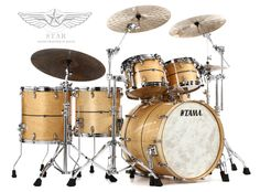 "TAMA Star Series ""Super Maple"" 5-pc Shell Pack"