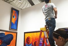 Art Basel 2016, Spectrum Miami, Laelanie Larach Solo Art Exibit.