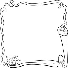 bordes escolares22 Page Borders, Borders And Frames, Color Bordo, Coloring Books, Coloring Pages, Disney Letters, Kindergarten Portfolio, Frame Layout, Background Powerpoint