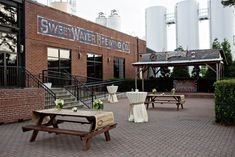 Atlanta Wedding Reception at Sweetwater Brewery by Alecia Lauren Photography - The Celebration Society