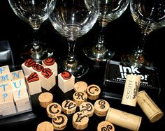 "diy Personalized Wine ""Cork"" Charms"