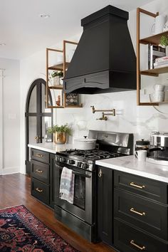 My Favorite Paint Colors for Kitchen Cabinetry - roomfortuesday.com #kitcheninteriordesignwhite