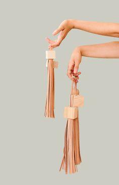 DIY statement tassels for bags, backpacks, luggage, etc.