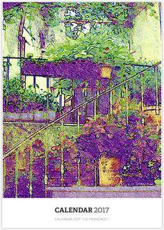 "Calendar 2017 ""Le Provence""."