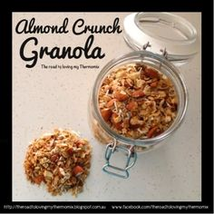 ANOTHER granola recipe! This is a fruitless version shown which I serve to my dried fruit hating kiddies (yet they eat it in their lunchbox! Brunch Recipes, Sweet Recipes, Breakfast Recipes, Dried Apricots, Dried Fruit, Dessert For Dinner, Everyday Food, Granola, Food Print